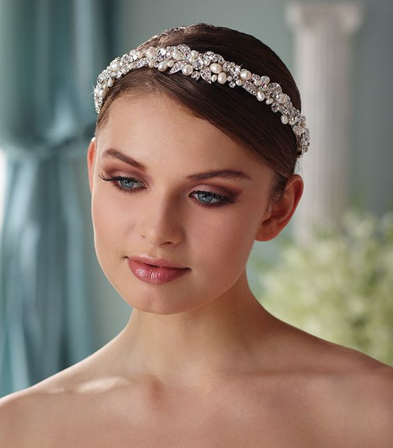 Berger - 9850 - All Dressed Up, Bridal Headpiece
