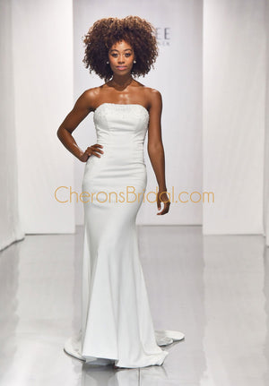 Blu - 5906 - Barbie - Cheron's Bridal, Wedding Gown - Morilee - - Wedding Gowns Dresses Chattanooga Hixson Shops Boutiques Tennessee TN Georgia GA MSRP Lowest Prices Sale Discount