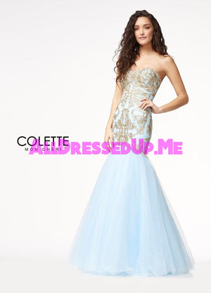 Colette - CL18249 - All Dressed Up, Prom Dress - - Dresses Two Piece Cut Out Sweetheart Halter Low Back High Neck Print Beaded Chiffon Jersey Fitted Sexy Satin Lace Jeweled Sparkle Shimmer Sleeveless Stunning Gorgeous Modest See Through Transparent Glitter Special Occasions Event Chattanooga Hixson Shops Boutiques Tennessee TN Georgia GA MSRP Lowest Prices Sale Discount