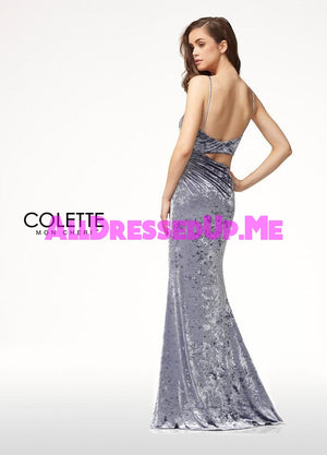 Colette - CL18269 - All Dressed Up, Prom Dress - - Dresses Two Piece Cut Out Sweetheart Halter Low Back High Neck Print Beaded Chiffon Jersey Fitted Sexy Satin Lace Jeweled Sparkle Shimmer Sleeveless Stunning Gorgeous Modest See Through Transparent Glitter Special Occasions Event Chattanooga Hixson Shops Boutiques Tennessee TN Georgia GA MSRP Lowest Prices Sale Discount