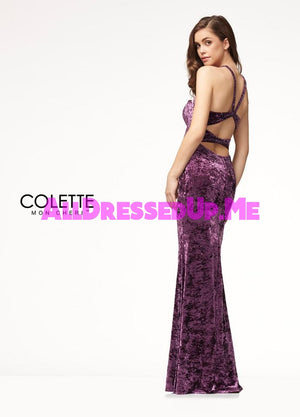 Colette - CL18270 - All Dressed Up, Prom Dress - - Dresses Two Piece Cut Out Sweetheart Halter Low Back High Neck Print Beaded Chiffon Jersey Fitted Sexy Satin Lace Jeweled Sparkle Shimmer Sleeveless Stunning Gorgeous Modest See Through Transparent Glitter Special Occasions Event Chattanooga Hixson Shops Boutiques Tennessee TN Georgia GA MSRP Lowest Prices Sale Discount