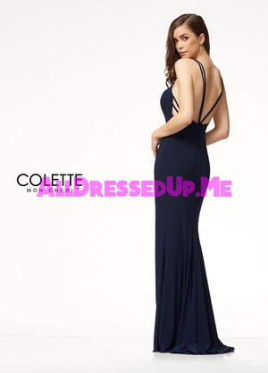Colette - CL18280 - All Dressed Up, Prom Dress - - Dresses Two Piece Cut Out Sweetheart Halter Low Back High Neck Print Beaded Chiffon Jersey Fitted Sexy Satin Lace Jeweled Sparkle Shimmer Sleeveless Stunning Gorgeous Modest See Through Transparent Glitter Special Occasions Event Chattanooga Hixson Shops Boutiques Tennessee TN Georgia GA MSRP Lowest Prices Sale Discount
