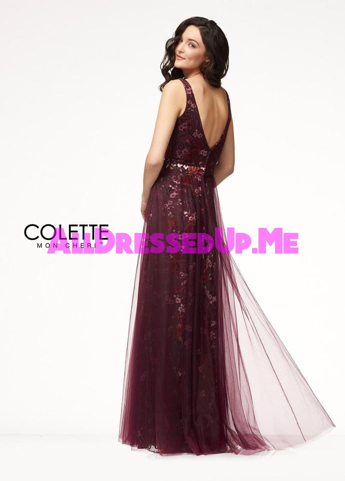 Colette - CL18299 - All Dressed Up, Prom Dress - - Dresses Two Piece Cut Out Sweetheart Halter Low Back High Neck Print Beaded Chiffon Jersey Fitted Sexy Satin Lace Jeweled Sparkle Shimmer Sleeveless Stunning Gorgeous Modest See Through Transparent Glitter Special Occasions Event Chattanooga Hixson Shops Boutiques Tennessee TN Georgia GA MSRP Lowest Prices Sale Discount
