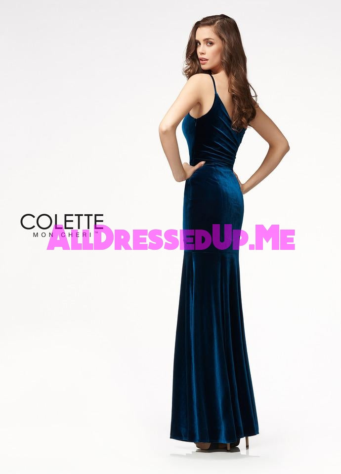 Colette - CL21704 - All Dressed Up, Prom Dress - - Dresses Two Piece Cut Out Sweetheart Halter Low Back High Neck Print Beaded Chiffon Jersey Fitted Sexy Satin Lace Jeweled Sparkle Shimmer Sleeveless Stunning Gorgeous Modest See Through Transparent Glitter Special Occasions Event Chattanooga Hixson Shops Boutiques Tennessee TN Georgia GA MSRP Lowest Prices Sale Discount