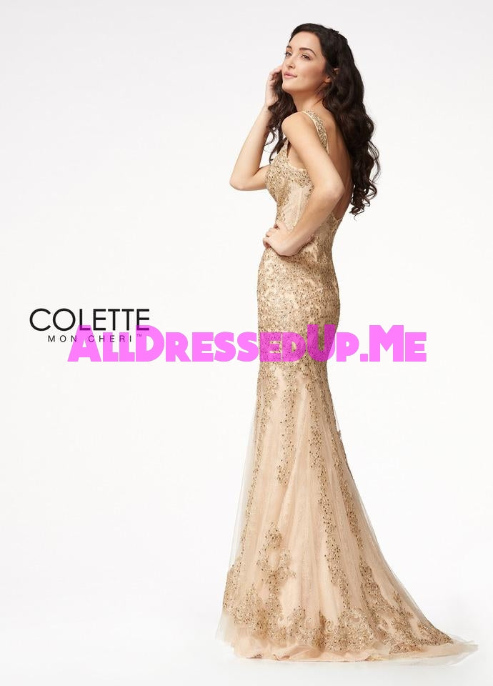 Colette - CL21712 - All Dressed Up, Prom Dress - - Dresses Two Piece Cut Out Sweetheart Halter Low Back High Neck Print Beaded Chiffon Jersey Fitted Sexy Satin Lace Jeweled Sparkle Shimmer Sleeveless Stunning Gorgeous Modest See Through Transparent Glitter Special Occasions Event Chattanooga Hixson Shops Boutiques Tennessee TN Georgia GA MSRP Lowest Prices Sale Discount