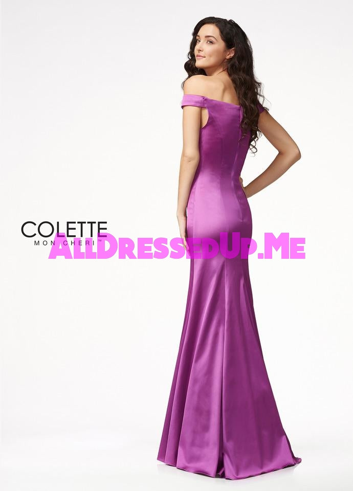 Colette - CL21716 - All Dressed Up, Prom Dress - - Dresses Two Piece Cut Out Sweetheart Halter Low Back High Neck Print Beaded Chiffon Jersey Fitted Sexy Satin Lace Jeweled Sparkle Shimmer Sleeveless Stunning Gorgeous Modest See Through Transparent Glitter Special Occasions Event Chattanooga Hixson Shops Boutiques Tennessee TN Georgia GA MSRP Lowest Prices Sale Discount