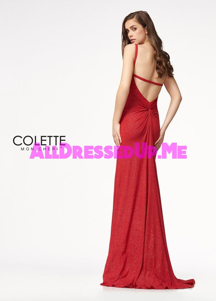 Colette - CL21724 - All Dressed Up, Prom Dress - - Dresses Two Piece Cut Out Sweetheart Halter Low Back High Neck Print Beaded Chiffon Jersey Fitted Sexy Satin Lace Jeweled Sparkle Shimmer Sleeveless Stunning Gorgeous Modest See Through Transparent Glitter Special Occasions Event Chattanooga Hixson Shops Boutiques Tennessee TN Georgia GA MSRP Lowest Prices Sale Discount