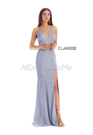 Clarisse - 8200 - All Dressed Up, Prom/Party Dress - - Dresses Two Piece Cut Out Sweetheart Halter Low Back High Neck Print Beaded Chiffon Jersey Fitted Sexy Satin Lace Jeweled Sparkle Shimmer Sleeveless Stunning Gorgeous Modest See Through Transparent Glitter Special Occasions Event Chattanooga Hixson Shops Boutiques Tennessee TN Georgia GA MSRP Lowest Prices Sale Discount