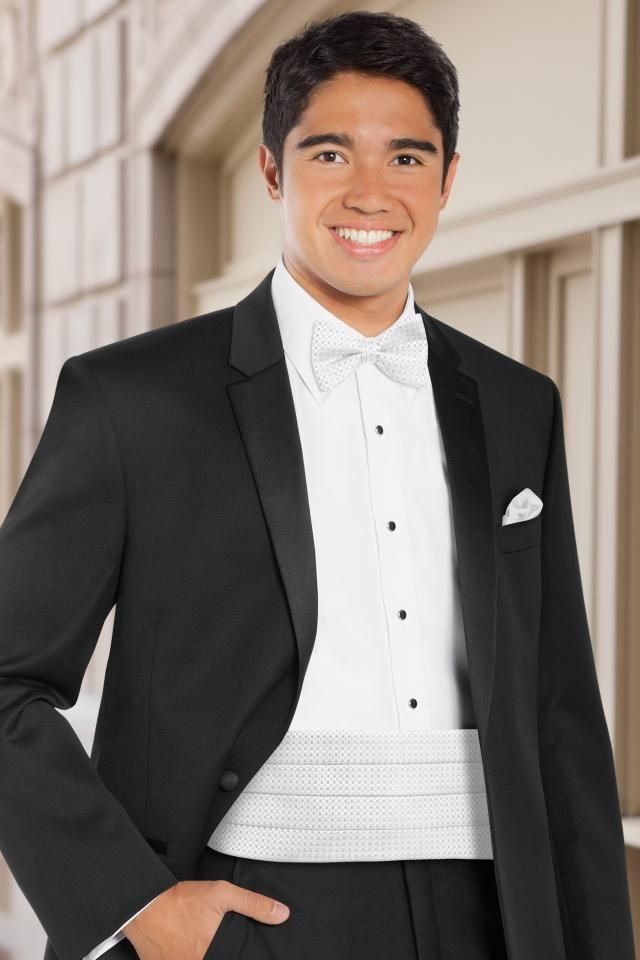 Cummerbund, Gloves, Cane, Cuff Links - All Dressed Up, Tuxedo Rental & Purchase