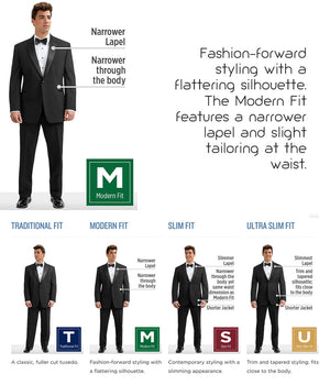 Platinum - 852 - Emerson - All Dressed Up, Tuxedo Rental
