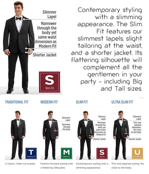 Diamond - 382 - Slate Blue Aspen - All Dressed Up, Tuxedo Rental