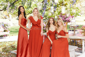Bridesmaids Dress - 21671 - 21671W - 42 Colors & 24 Sizes - Morilee HQ