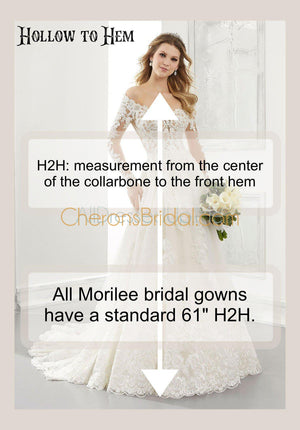 The Other White Dress - 12107 - Brooklyn - Cheron's Bridal, Wedding - Morilee - - Wedding Gowns Dresses Chattanooga Hixson Shops Boutiques Tennessee TN Georgia GA MSRP Lowest Prices Sale Discount