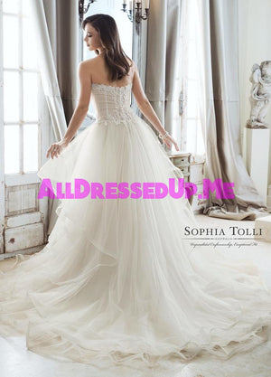 Sophia Tolli - Cleo - Y11867 - Y11867LS - All Dressed Up, Bridal Gown - Mon Cheri - - Wedding Gowns Dresses Chattanooga Hixson Shops Boutiques Tennessee TN Georgia GA MSRP Lowest Prices Sale Discount