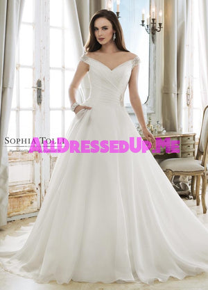 Sophia Tolli - Ceres - Y11873 - Y11873LS - All Dressed Up, Bridal Gown - Mon Cheri - - Wedding Gowns Dresses Chattanooga Hixson Shops Boutiques Tennessee TN Georgia GA MSRP Lowest Prices Sale Discount