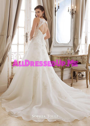 Sophia Tolli - Artemis - Y11874 - Y11874LS - All Dressed Up, Bridal Gown - Mon Cheri - - Wedding Gowns Dresses Chattanooga Hixson Shops Boutiques Tennessee TN Georgia GA MSRP Lowest Prices Sale Discount