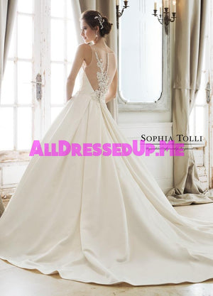 Sophia Tolli - Osiris - Y11886 - Y11886LS - All Dressed Up, Bridal Gown - Mon Cheri - - Wedding Gowns Dresses Chattanooga Hixson Shops Boutiques Tennessee TN Georgia GA MSRP Lowest Prices Sale Discount