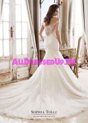 Sophia Tolli - Minerva - Y11894 - Y11894LS - All Dressed Up, Bridal Gown - Mon Cheri - - Wedding Gowns Dresses Chattanooga Hixson Shops Boutiques Tennessee TN Georgia GA MSRP Lowest Prices Sale Discount
