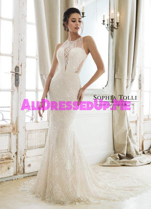 Sophia Tolli - Zena - Y11895A - Y11895ALS - All Dressed Up, Bridal Gown - Mon Cheri - - Wedding Gowns Dresses Chattanooga Hixson Shops Boutiques Tennessee TN Georgia GA MSRP Lowest Prices Sale Discount