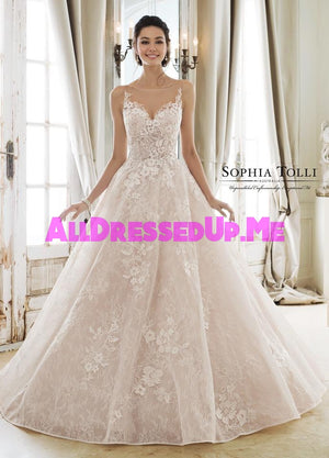 Sophia Tolli - Aphrodite - Y11897 - Y11897LS - All Dressed Up, Bridal Gown - Mon Cheri - - Wedding Gowns Dresses Chattanooga Hixson Shops Boutiques Tennessee TN Georgia GA MSRP Lowest Prices Sale Discount