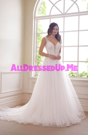 Sophia Tolli - Alexandrite - Y21821 - Y21821LS - All Dressed Up, Bridal Gown - Mon Cheri - - Wedding Gowns Dresses Chattanooga Hixson Shops Boutiques Tennessee TN Georgia GA MSRP Lowest Prices Sale Discount