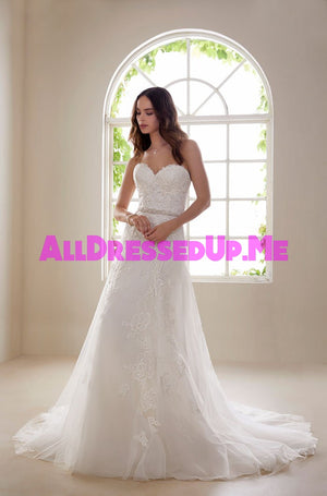 Sophia Tolli - Zirconia - Y21827 - Y21827LS - All Dressed Up, Bridal Gown - Mon Cheri - - Wedding Gowns Dresses Chattanooga Hixson Shops Boutiques Tennessee TN Georgia GA MSRP Lowest Prices Sale Discount