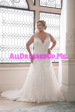 Sophia Tolli - Magnesite - Y21830 - Y21830LS - All Dressed Up, Bridal Gown - Mon Cheri - - Wedding Gowns Dresses Chattanooga Hixson Shops Boutiques Tennessee TN Georgia GA MSRP Lowest Prices Sale Discount