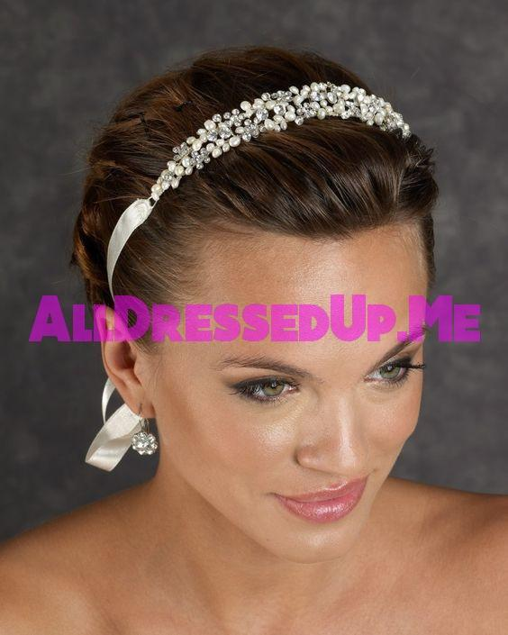 Berger - 2404 - All Dressed Up, Headpiece - Mon Cheri - - Edward Wedding Collection Costume Bridal Hand Crafted Made Quality Special Occasions Bling Chattanooga Hixson Shops Boutiques Tennessee TN Georgia GA MSRP Lowest Prices Sale Discount