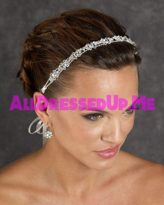 Berger - 2432 - All Dressed Up, Headpiece - Mon Cheri - - Edward Wedding Collection Costume Bridal Hand Crafted Made Quality Special Occasions Bling Chattanooga Hixson Shops Boutiques Tennessee TN Georgia GA MSRP Lowest Prices Sale Discount