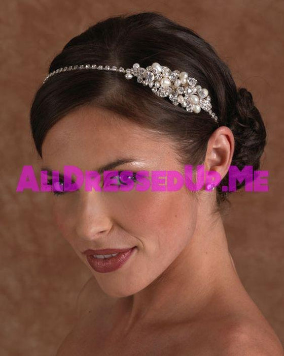 Berger - 2502 - All Dressed Up, Headpiece - Mon Cheri - - Edward Wedding Collection Costume Bridal Hand Crafted Made Quality Special Occasions Bling Chattanooga Hixson Shops Boutiques Tennessee TN Georgia GA MSRP Lowest Prices Sale Discount