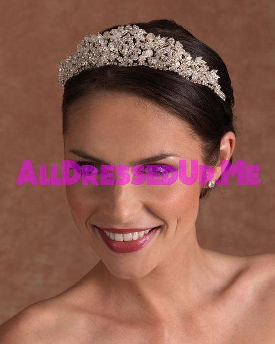 Berger - 2507 - All Dressed Up, Headpiece - Mon Cheri - - Edward Wedding Collection Costume Bridal Hand Crafted Made Quality Special Occasions Bling Chattanooga Hixson Shops Boutiques Tennessee TN Georgia GA MSRP Lowest Prices Sale Discount