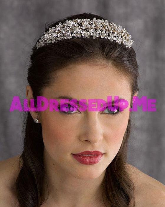 Berger - 2572 - All Dressed Up, Headpiece - Mon Cheri - - Edward Wedding Collection Costume Bridal Hand Crafted Made Quality Special Occasions Bling Chattanooga Hixson Shops Boutiques Tennessee TN Georgia GA MSRP Lowest Prices Sale Discount
