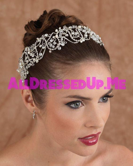 Berger - 2605 - All Dressed Up, Headpiece - Mon Cheri - - Edward Wedding Collection Costume Bridal Hand Crafted Made Quality Special Occasions Bling Chattanooga Hixson Shops Boutiques Tennessee TN Georgia GA MSRP Lowest Prices Sale Discount