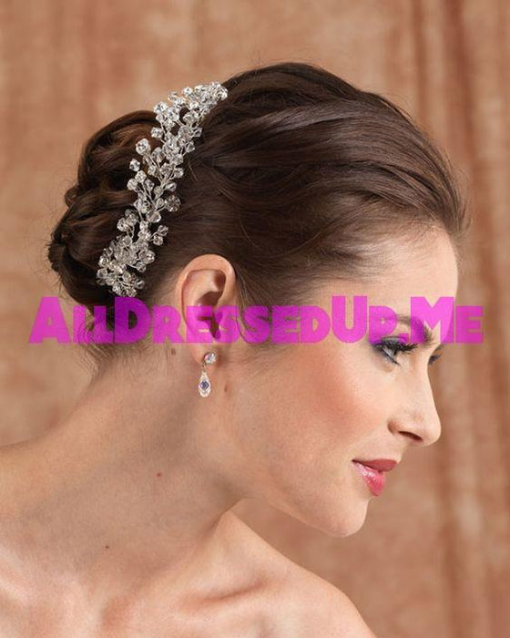 Berger - 2618 - All Dressed Up, Headpiece - Mon Cheri - - Edward Wedding Collection Costume Bridal Hand Crafted Made Quality Special Occasions Bling Chattanooga Hixson Shops Boutiques Tennessee TN Georgia GA MSRP Lowest Prices Sale Discount