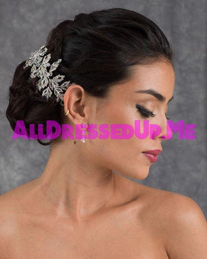 Berger - 2663 - All Dressed Up, Headpiece - Mon Cheri - - Edward Wedding Collection Costume Bridal Hand Crafted Made Quality Special Occasions Bling Chattanooga Hixson Shops Boutiques Tennessee TN Georgia GA MSRP Lowest Prices Sale Discount