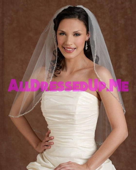 Berger - 4181 - All Dressed Up, Veil - Mon Cheri - - Edward Wedding Collection Costume Bridal Hand Crafted Made Quality Special Occasions Bling Chattanooga Hixson Shops Boutiques Tennessee TN Georgia GA MSRP Lowest Prices Sale Discount