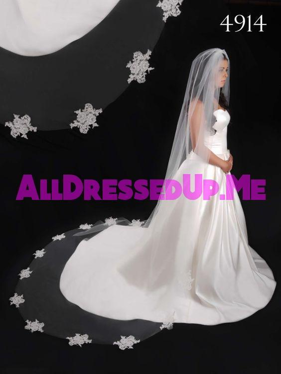 Berger - 4914 - All Dressed Up, Veil - Mon Cheri - - Edward Wedding Collection Costume Bridal Hand Crafted Made Quality Special Occasions Bling Chattanooga Hixson Shops Boutiques Tennessee TN Georgia GA MSRP Lowest Prices Sale Discount