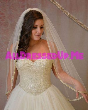 Berger - 9891 - All Dressed Up, Bridal Veil - Mon Cheri - - Edward Wedding Collection Costume Bridal Hand Crafted Made Quality Special Occasions Bling Chattanooga Hixson Shops Boutiques Tennessee TN Georgia GA MSRP Lowest Prices Sale Discount