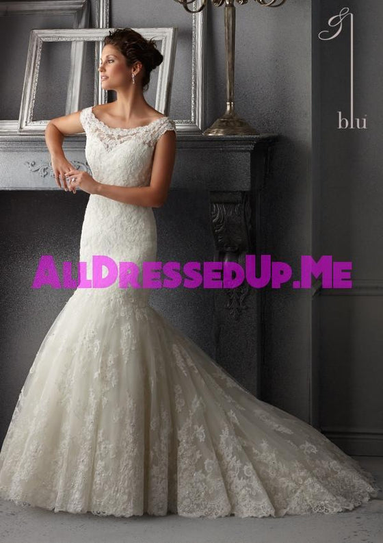 Blu - 5265 - All Dressed Up, Bridal Gown - Morilee - - Wedding Gowns Dresses Chattanooga Hixson Shops Boutiques Tennessee TN Georgia GA MSRP Lowest Prices Sale Discount