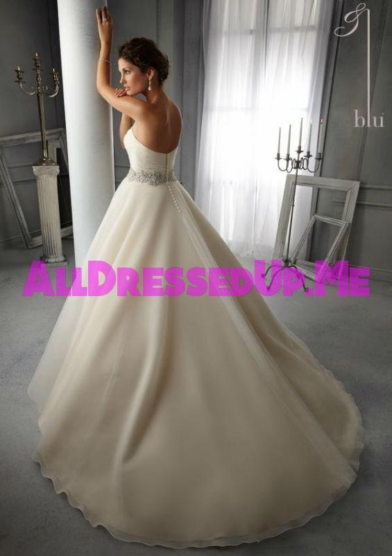 Blu - 5276 - Cheron's Bridal, Wedding Gown - Morilee - - Wedding Gowns Dresses Chattanooga Hixson Shops Boutiques Tennessee TN Georgia GA MSRP Lowest Prices Sale Discount