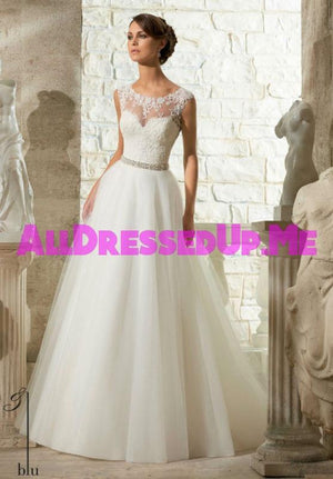 Blu - 5315 - All Dressed Up, Bridal Gown - Morilee - - Wedding Gowns Dresses Chattanooga Hixson Shops Boutiques Tennessee TN Georgia GA MSRP Lowest Prices Sale Discount