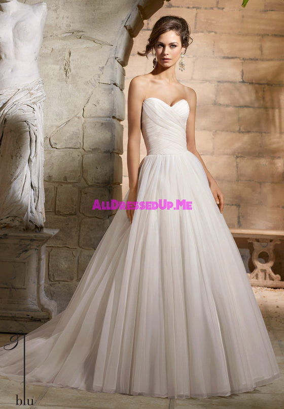 Blu - 5364 - All Dressed Up, Bridal Gown - Morilee - - Wedding Gowns Dresses Chattanooga Hixson Shops Boutiques Tennessee TN Georgia GA MSRP Lowest Prices Sale Discount