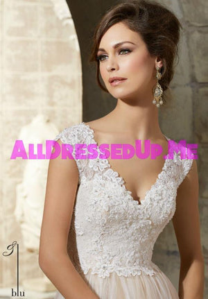 Blu - 5368 - All Dressed Up, Bridal Gown - Morilee - - Wedding Gowns Dresses Chattanooga Hixson Shops Boutiques Tennessee TN Georgia GA MSRP Lowest Prices Sale Discount