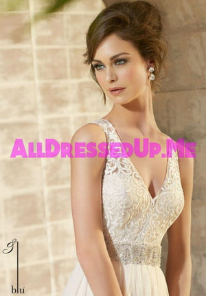 Blu - 5371 - All Dressed Up, Bridal Gown - Morilee - - Wedding Gowns Dresses Chattanooga Hixson Shops Boutiques Tennessee TN Georgia GA MSRP Lowest Prices Sale Discount