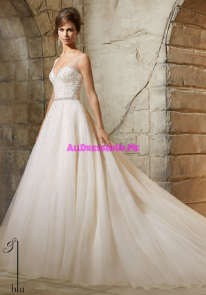 Blu - 5376 - All Dressed Up, Bridal Gown - Morilee - - Wedding Gowns Dresses Chattanooga Hixson Shops Boutiques Tennessee TN Georgia GA MSRP Lowest Prices Sale Discount