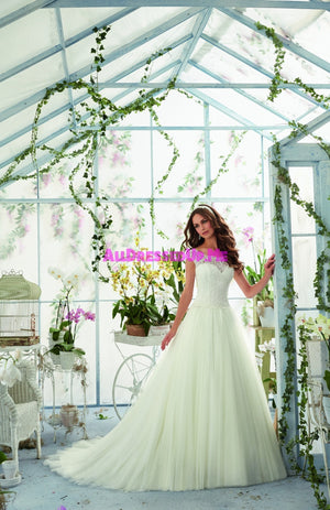 Blu - 5403 - All Dressed Up, Bridal Gown - Morilee - - Wedding Gowns Dresses Chattanooga Hixson Shops Boutiques Tennessee TN Georgia GA MSRP Lowest Prices Sale Discount