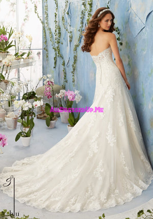 Blu - 5404 - All Dressed Up, Bridal Gown - Morilee - - Wedding Gowns Dresses Chattanooga Hixson Shops Boutiques Tennessee TN Georgia GA MSRP Lowest Prices Sale Discount