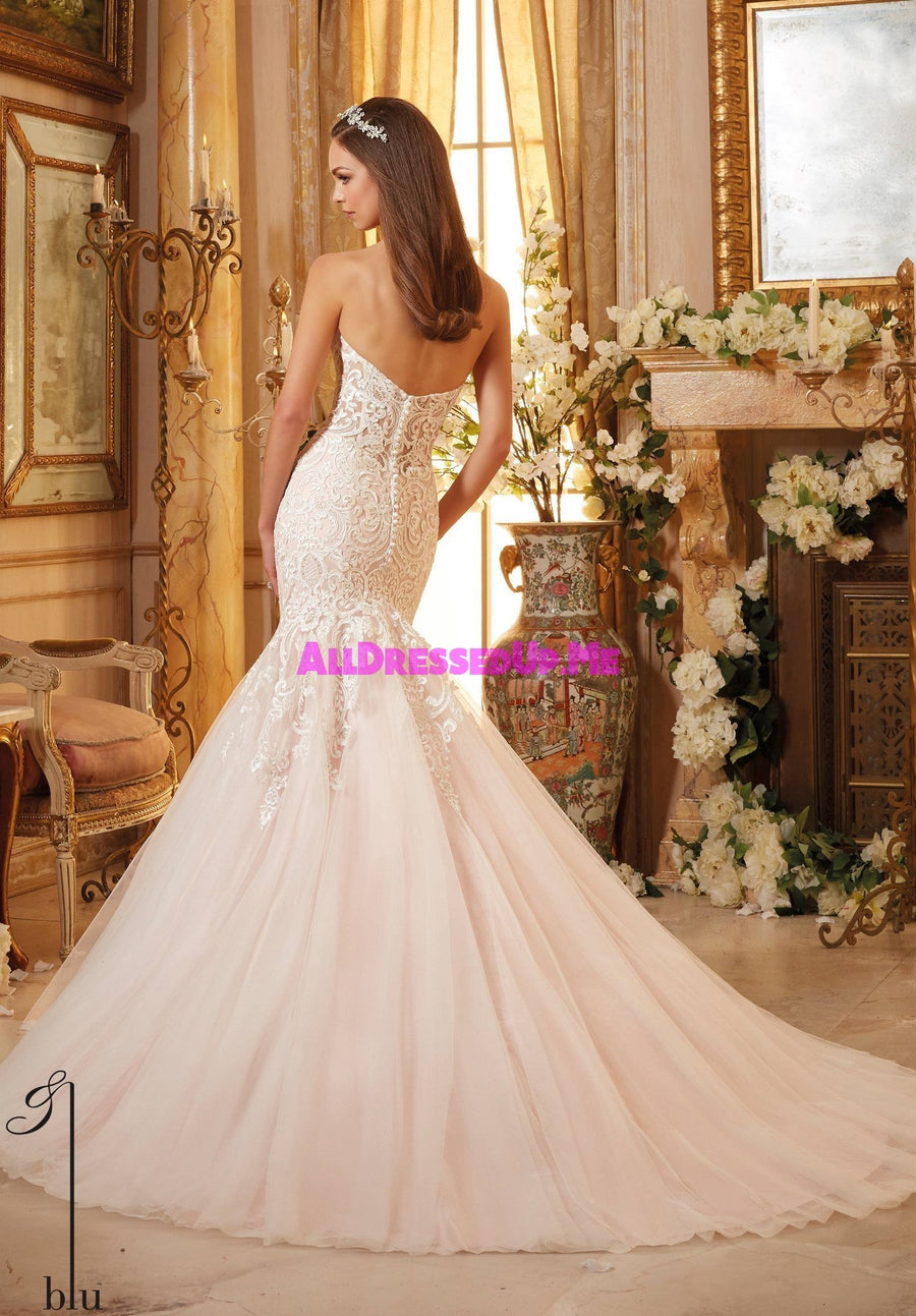 Blu - 5461 - All Dressed Up, Bridal Gown - Morilee - - Wedding Gowns Dresses Chattanooga Hixson Shops Boutiques Tennessee TN Georgia GA MSRP Lowest Prices Sale Discount
