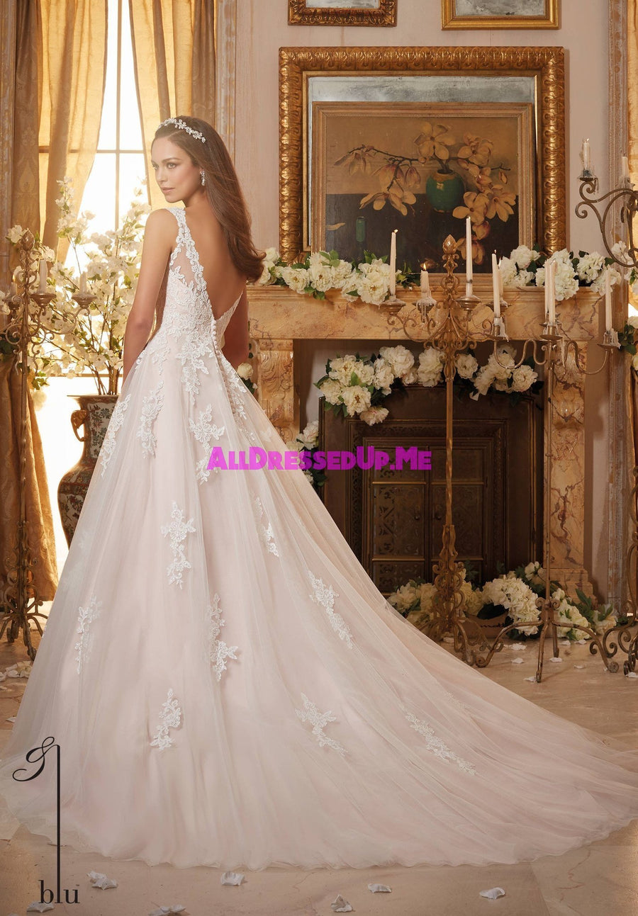 Blu - 5468 - All Dressed Up, Bridal Gown - Morilee - - Wedding Gowns Dresses Chattanooga Hixson Shops Boutiques Tennessee TN Georgia GA MSRP Lowest Prices Sale Discount