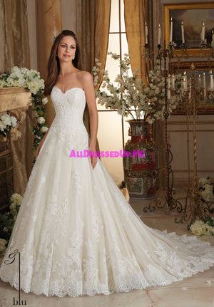 Blu - 5473 - All Dressed Up, Bridal Gown - Morilee - - Wedding Gowns Dresses Chattanooga Hixson Shops Boutiques Tennessee TN Georgia GA MSRP Lowest Prices Sale Discount
